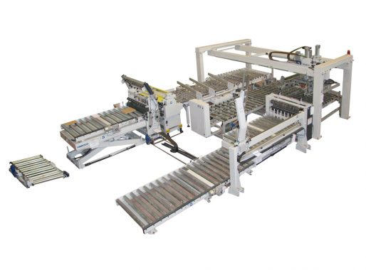 ITALPRESSE- Automations for press lines (feeders, scissor lifts, belt, roller and disc conveyors for loading and unloading, chain conveyors, transfers, lay up stations, vacuum lifters, panel turners and much more)