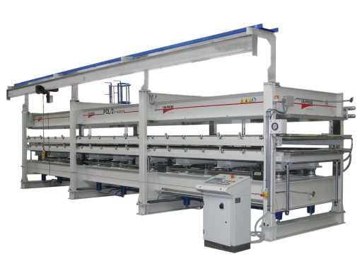 FOAMING LINES WITH LOADING TRAYS